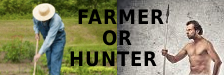 Are you a hunter or a farmer? Forum logo